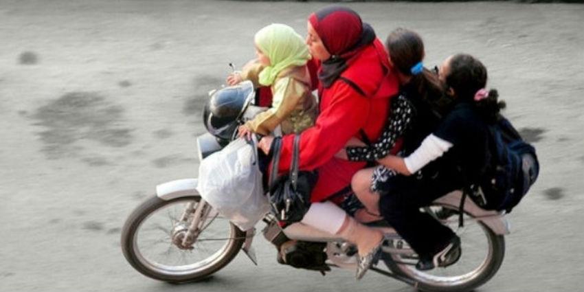 Conduire moto sans permis maroc
