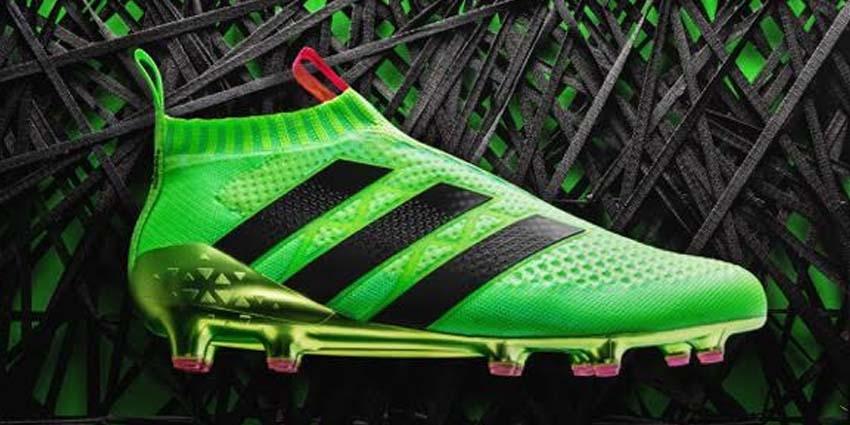 Les premières chaussures de football sans lacets débarquent