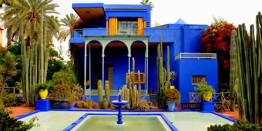 ce39c2b2a21 Marrakech: la collection Pierre Bergé-Yves Saint Laurent mise aux ...