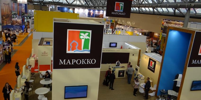 Le maroc meilleur stand au salon international du tourisme de moscou h24info for Prix stand salon