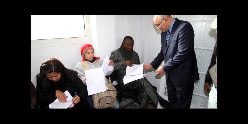 campagne de r gularisation des migrants c 39 est parti h24info. Black Bedroom Furniture Sets. Home Design Ideas