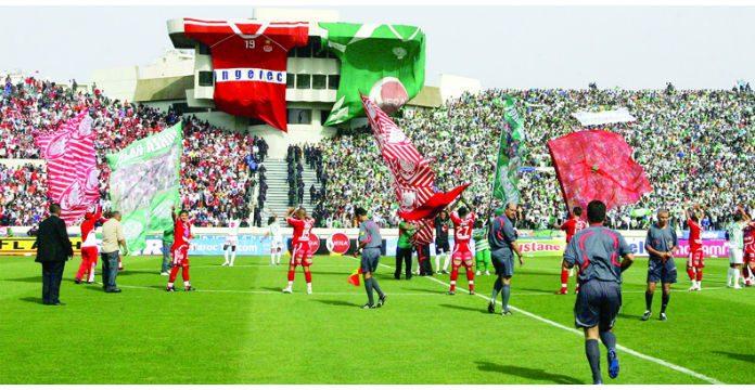 Le Derby Casablancais Entre Le Raja Et Le Wydad Dimanche Au Complexe Sportif Mohammed V Pour Le Compte De La E Journee Sera Une Occasion Pour Les Rouges