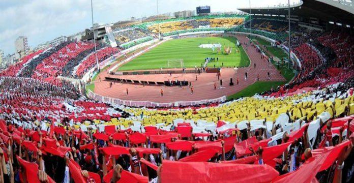 Le Derby Casablancais Entre Le Raja Et Le Wydad Dimanche Au Complexe Sportif Mohammed V Pour Le Compte De La E Journee Sest Solde Par Une Victoire Des
