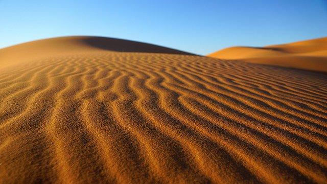 Le désert de Merzouga.