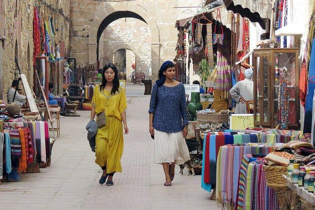 La médina d'Essaouira.