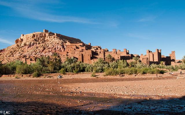 Kasbah Ait Benhadou à Ouarzazate.