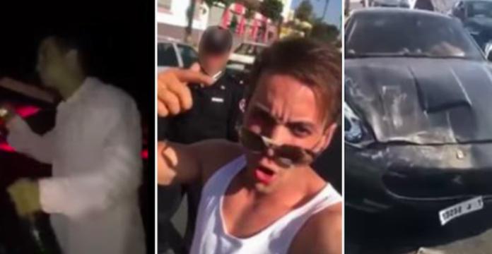 Le playboy en Ferrari condamné à deux ans de prison ferme