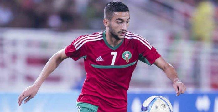 Ziyech fait son retour dans la liste de renard — Equipe nationale