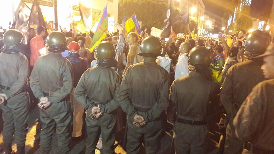 Manifestations à al-Hoceïma, des heurts entre jeunes et police — Maroc