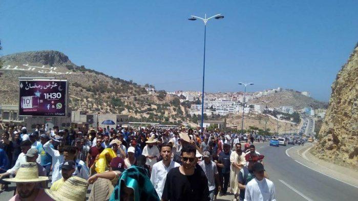 El Mortada Iamrachen autorisé à assister aux funérailles de son père — Hirak