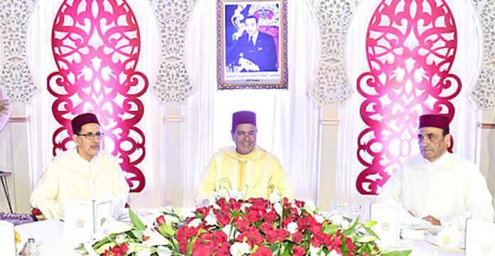 Le Roi Mohammed VI préside à Tétouan la cérémonie d'allégeance