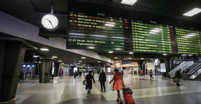 Les passagers du TGV sont désormais contrôlés aux Guillemins — Sécurité
