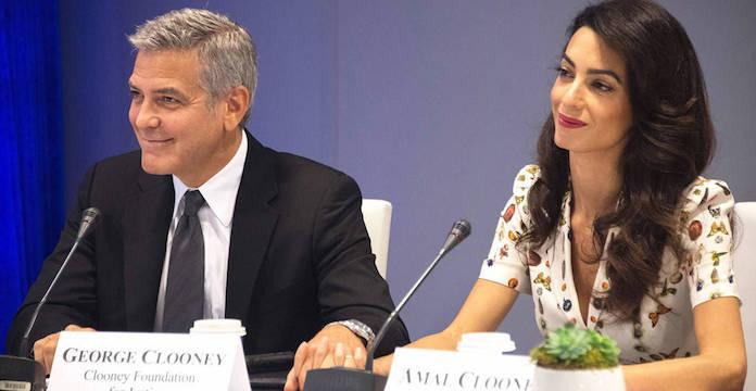 George et Amal Clooney vont aider 3 000 enfants syriens