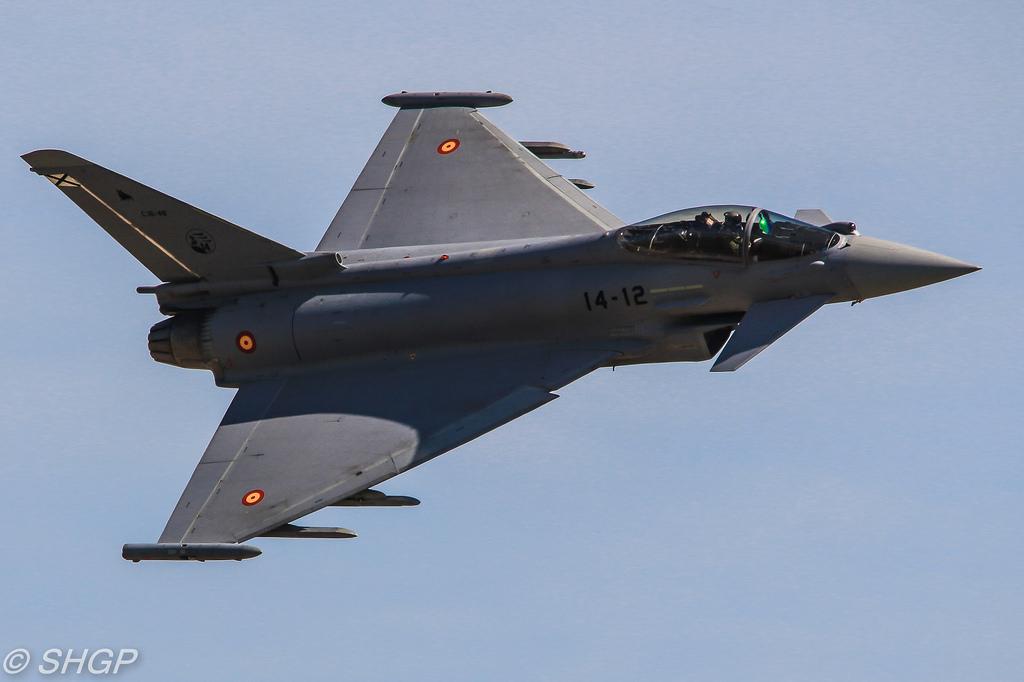 Crash d'un avion militaire en Espagne