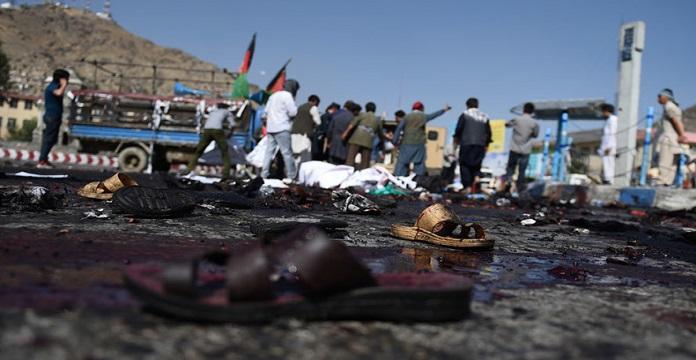Daech revendique l'attentat contre une mosquée chiite à Kaboul