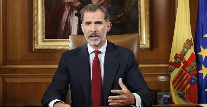 Le roi Felipe fustige des dirigeants indépendantistes