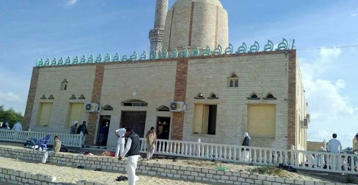 Egypte: le bilan monte à 155 morts dans l'attaque contre une mosquée