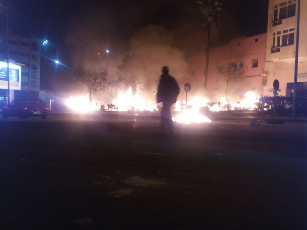 Affrontements entre un groupe de jeunes marocains et des migrants subsahariens — Casablanca