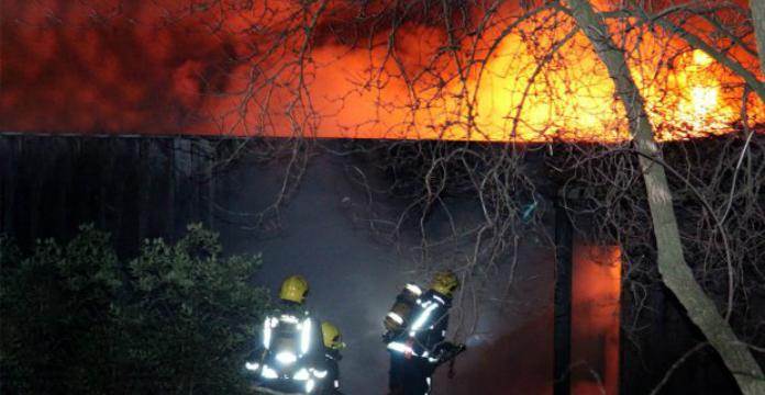 Incendie au zoo de Londres