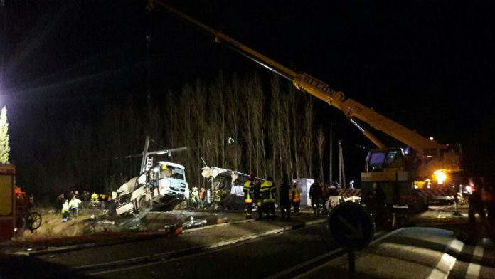 France : le bilan de l'accident de train s'alourdit