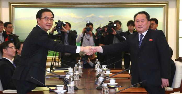 Jeux Olympiques : les deux Corées reprennent le dialogue