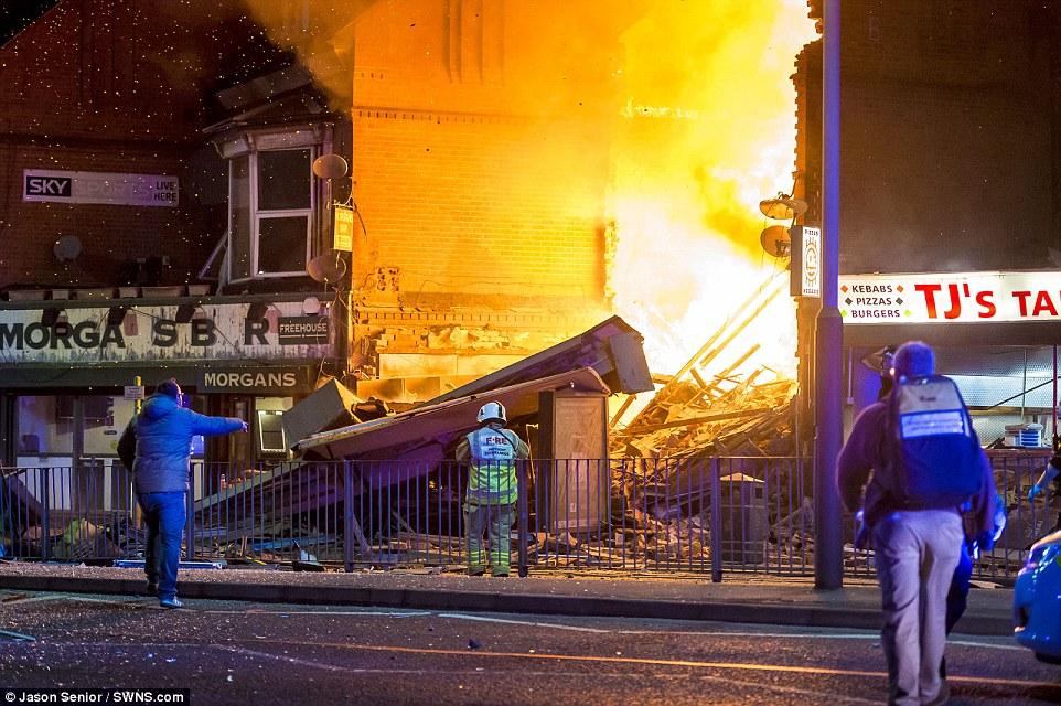 Violente explosion dans la ville de Leicester
