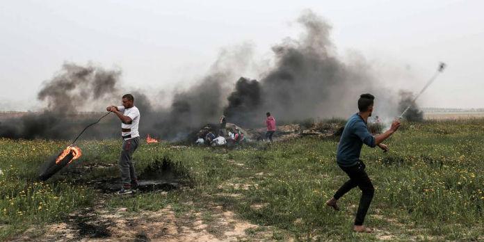 Le Hamas tire plusieurs missiles en direction de la mer — Gaza