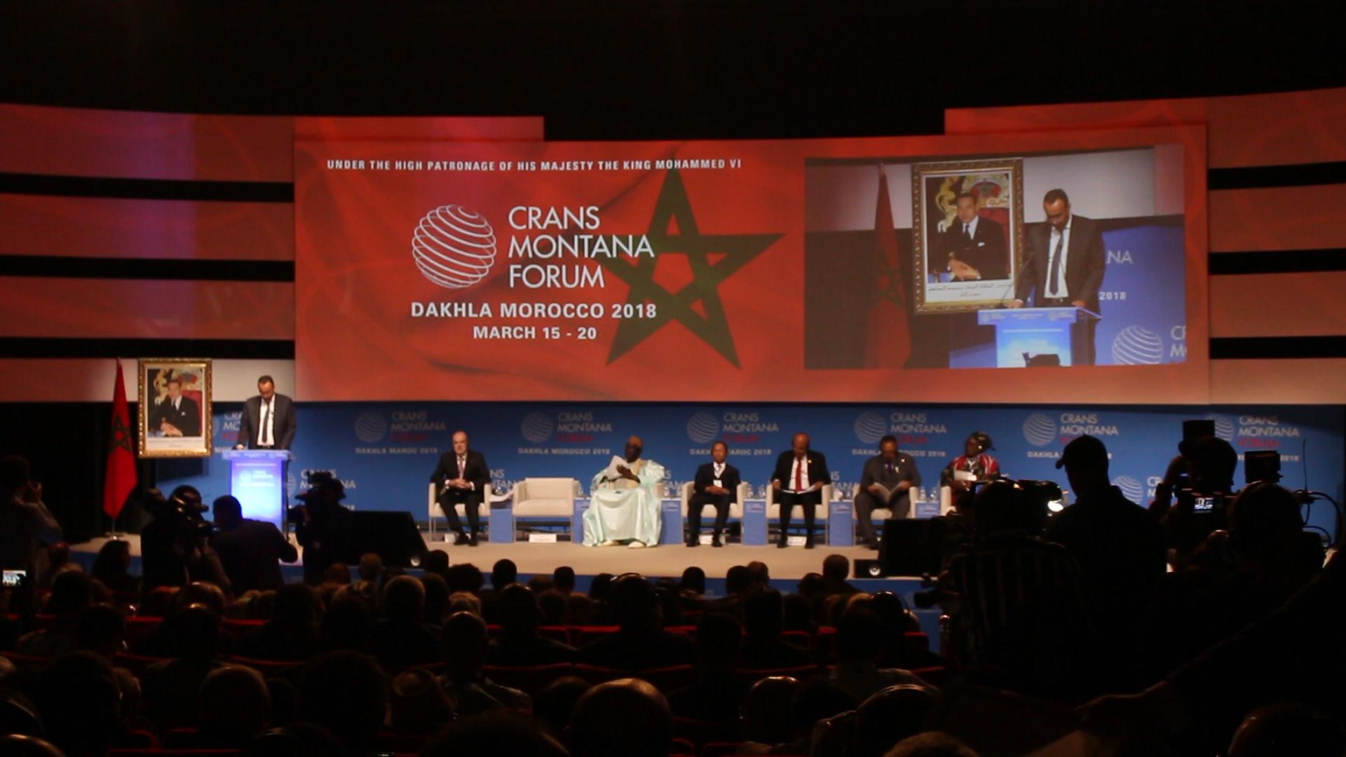 113 pays prennent part au Crans Montana