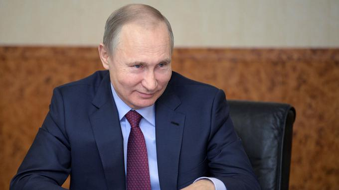 Vladimir Poutine se