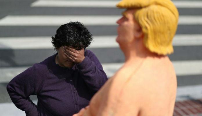 Une statue peu flatteuse de Donald Trump adjugée 28 000 dollars