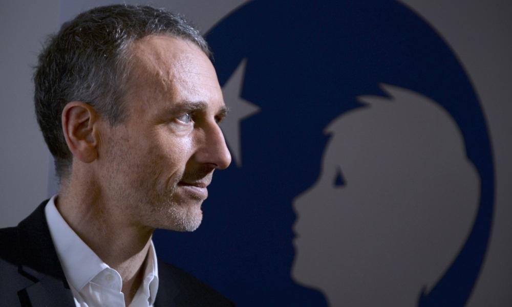 Emmanuel Faber donne une conférence de presse à Casa — Centrale Danone