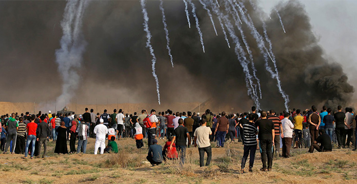 Les plus importantes frappes israéliennes menées à Gaza depuis 2014