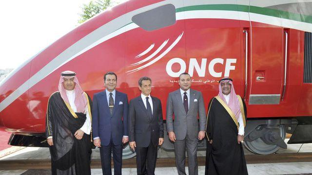 Le Roi Mohammed VI baptise le TGV marocain