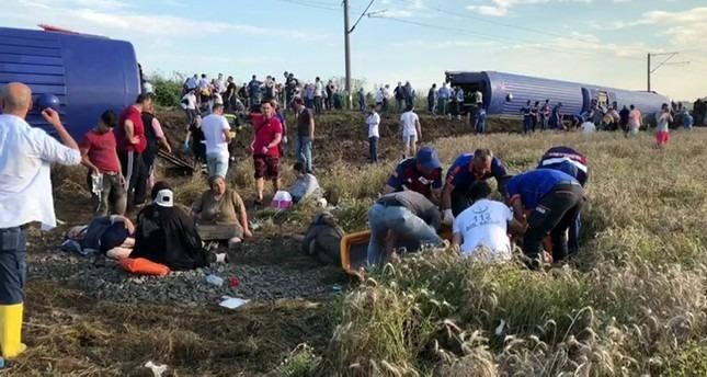 Déraillement d'un train en Turquie : plusieurs morts, des dizaines de blessés