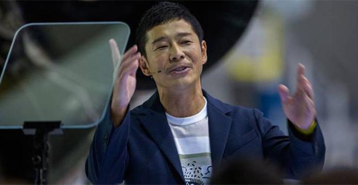 Le milliardaire Yusaku Maezawa premier touriste lunaire de SpaceX en 2023