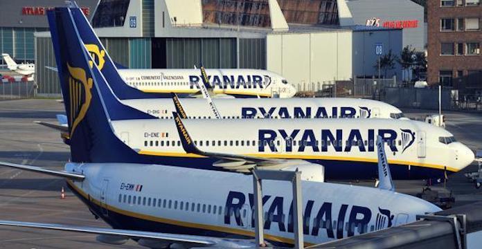 Ryanair annule 250 vols à cause d'une nouvelle grève européenne