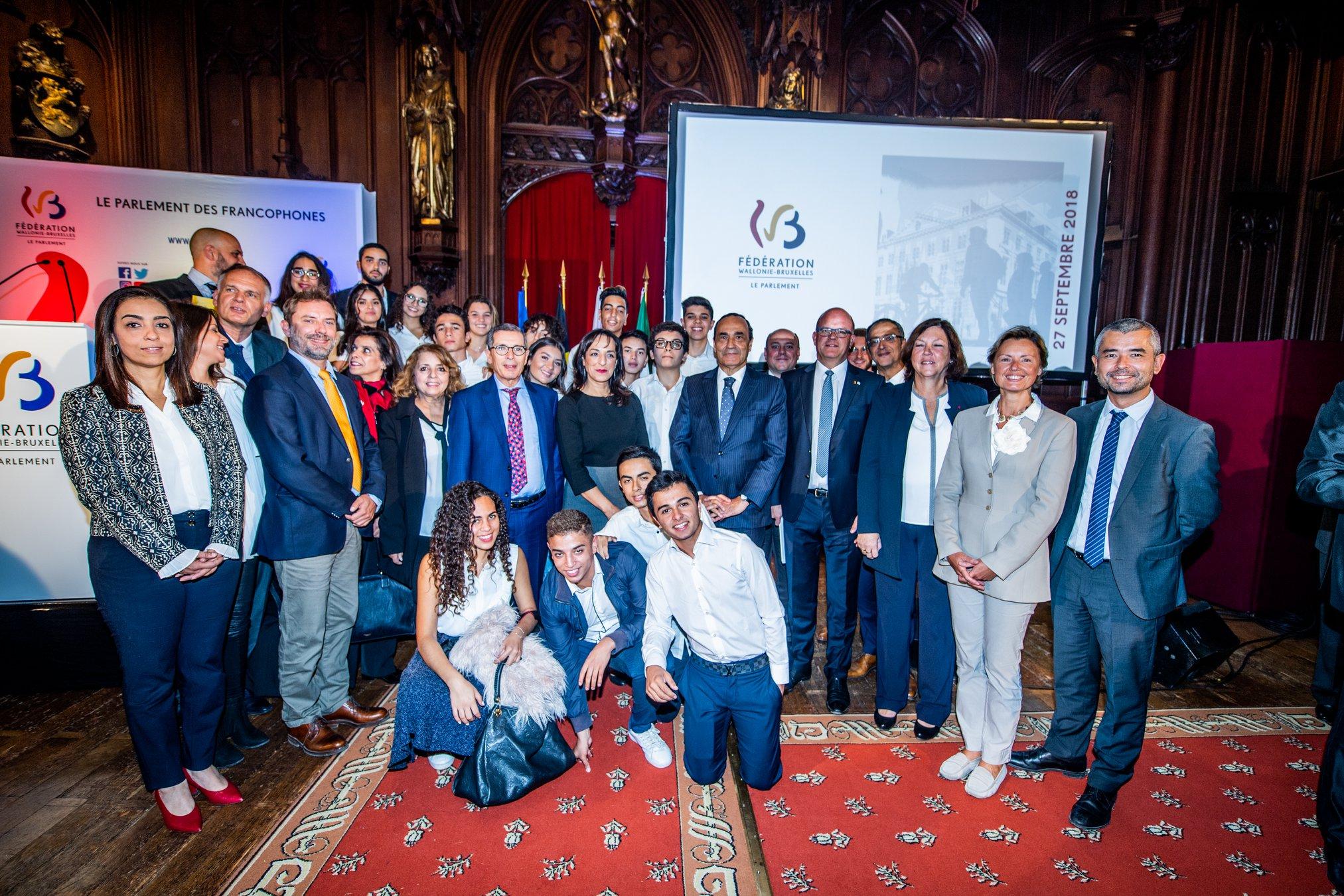 La 1ere Promotion De L Ecole Belge De Casablanca A L Honneur En