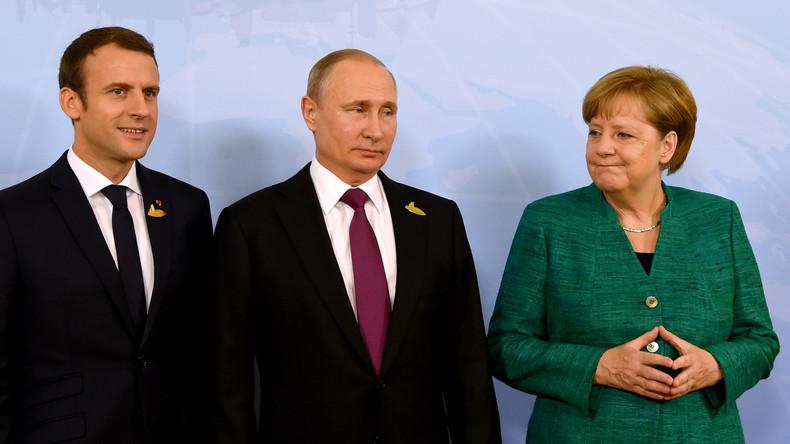 Un sommet sur la Syrie à Istanbul avec Poutine, Macron et Merkel