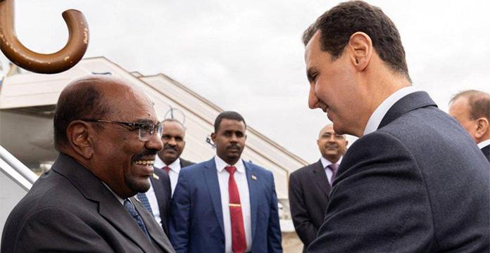Syrie : al-Assad reçoit le président soudanais al-Bachir à Damas