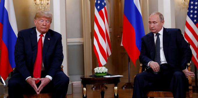 """Résultat de recherche d'images pour """"Washington annonce son retrait d'un traité crucial de désarmement nucléaire avec la Russie 2019"""""""