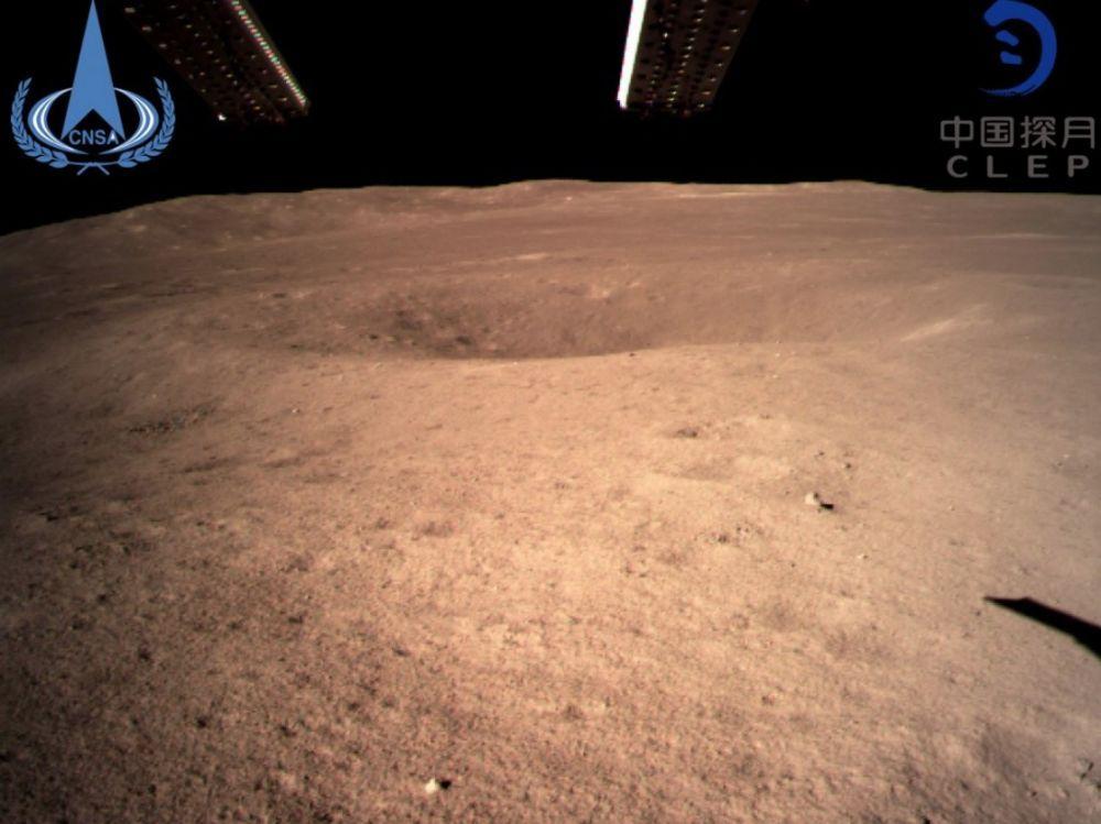 Les premières images de la face cachée de la Lune (photos)
