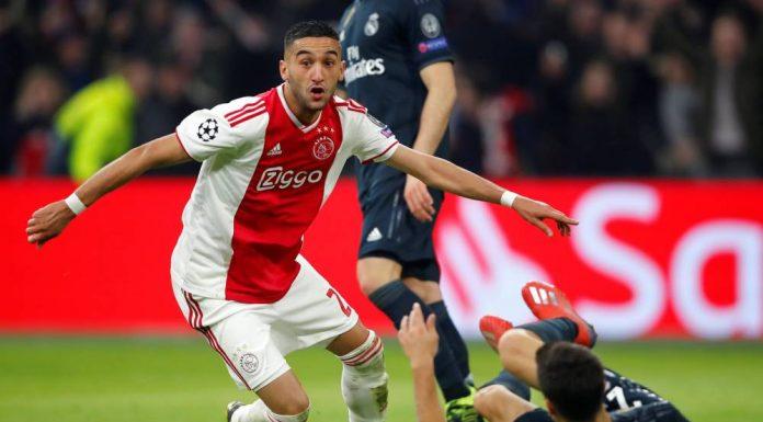 C1: Ziyech dans le Onze type de France Football