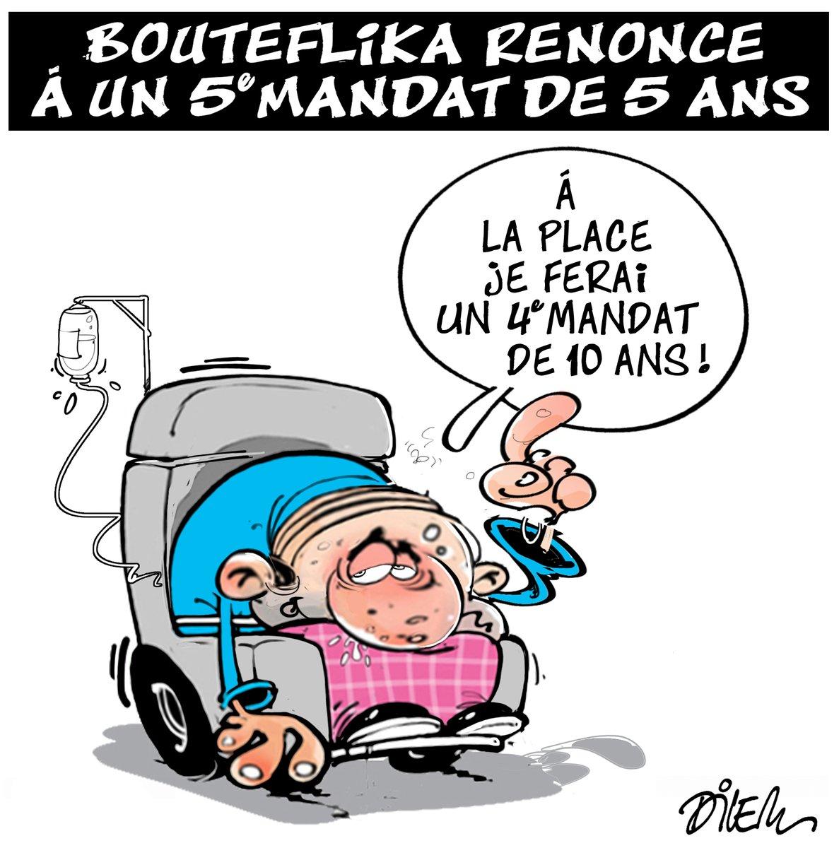 Une manifestation contre un cinquième mandat de Bouteflika — Bordeaux