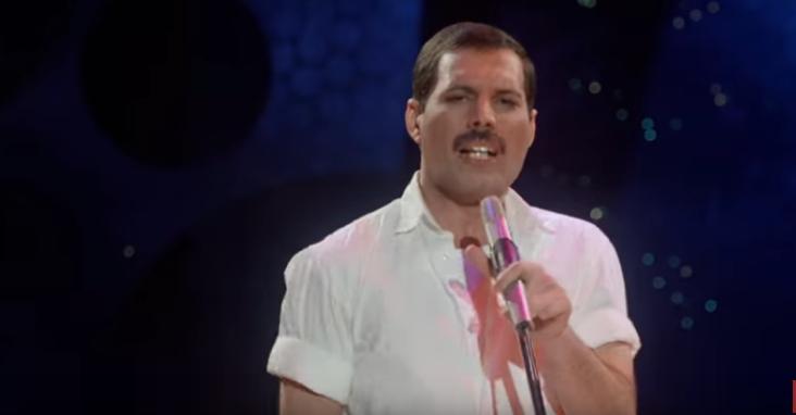 La mélodie Freddie Mercury est découverte à partir de 1985