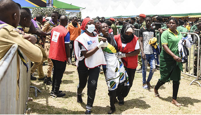 Tanzanie: 45 personnes mortes dans une bousculade lors d'un hommage au président  Magufuli | H24info
