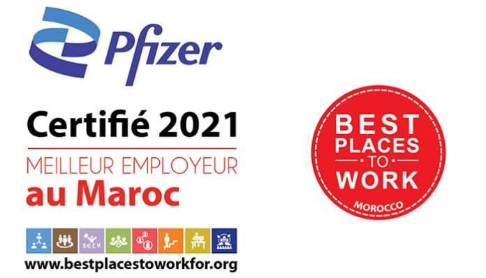 pfizer Maroc meilleur employeur